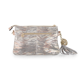 85fd83d1618f Image of Willow Zac Ruby Clutch Bag - Metallic Wave