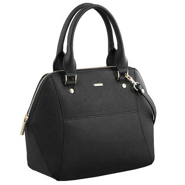 a1d4ded00b33 Morrissey MO2368 Italian Leather Ladies Tote Bag - Black